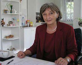 Hana Hrusková, directora de Lázne Kynzvart (Foto: autora)