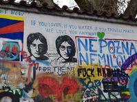 John-Lennon-Mauer (Foto: Jekaterina Staschewska)