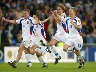 Futbolistas checos en Francia, Foto: CTK