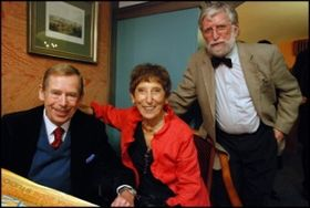 Václav Havel, Marketa Goetz Stankiewicz, Ivan Havel, photo: archive of Marketa Goetz Stankiewicz