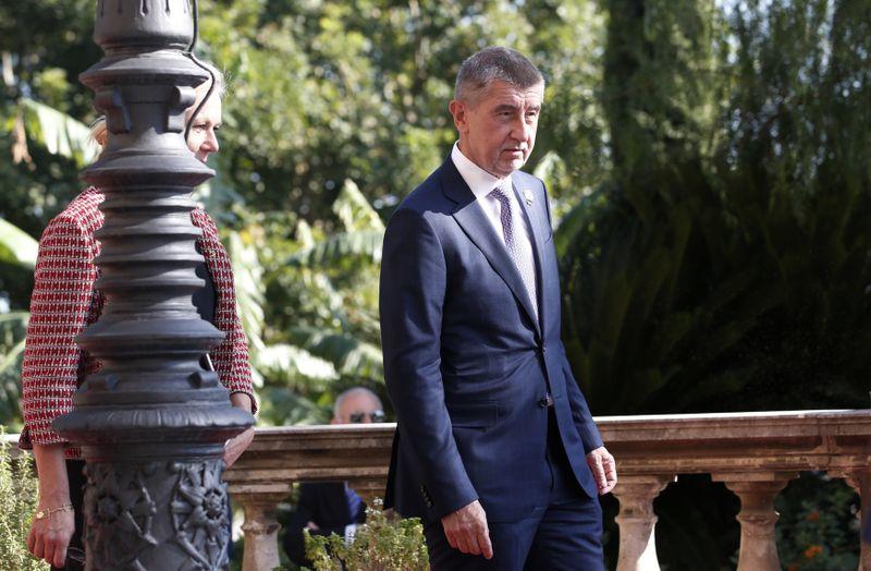 Andrej Babiš en Palermo, foto: ČTk/AP/Antonio Calanni