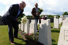 Adinkerke cemetery, photo: CTK