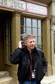 Roman Polanski en los estudios de Barrandov, foto: CTK
