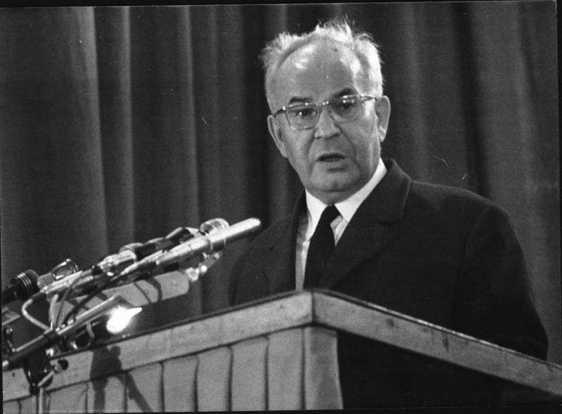 Первый секретарь ЦК КПЧ Густав Гусак, фото: Архив Чешского Радио