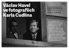 Fotografie prezidenta Havla od Karla Cudlína bylo možné vidět před několika lety ina výstavě vOlomouci
