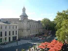 Le lycée Alphonse Daudet de Nîmes, photo: Michaela.no.007, CC BY-SA 3.0