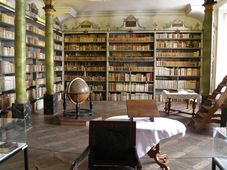 Библиотека монастыря в Броумове, фото: Антон Каймаков
