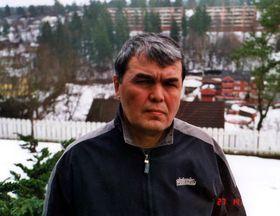Mukhammed Salikh in January 2001 - Oslo, photo CTK