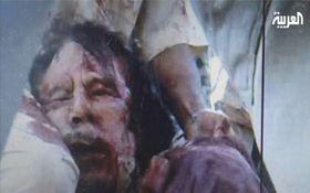 La mort de Mouammar Kadhafi, photo: CTK