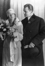 Свадебное фото Милады и Богуслава Гораковых, 1927 г. Фото: Archiv Jany Kánské
