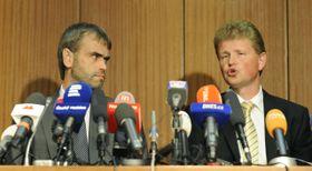 Robert Šlachta und Ivo Ištvan (Foto: ČTK)