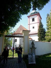 Kostel sv. Václava vPísku, foto: Zdeňka Kuchyňová