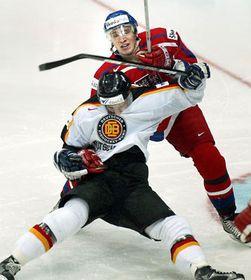 Los jugadores checos marcaron una victoria por cuatro a cero ante el equipo de Alemania, foto: CTK