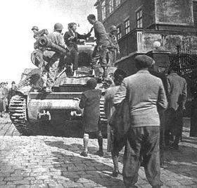 Befreiung der Stadt Plzen/Pilsen
