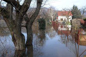Hochwasser an der Elbe (Foto: ČTK)