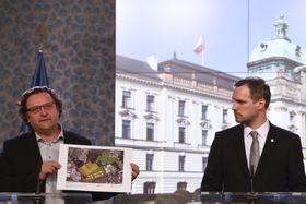 Petr Hlaváček und Zdeněk Hřib (Foto: ČTK / Michal Kamaryt)