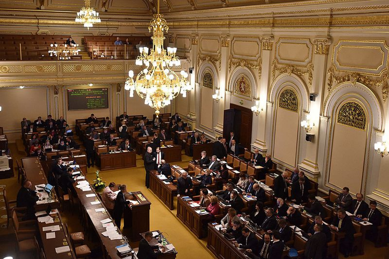 Cámara de los diputados, foto: Filip Jandourek, ČRo