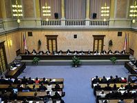Court session on constitutionality of Lisbon treaty, photo: CTK