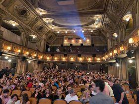 Inauguración de la Semana del Cine Argentino en el cine Lucerna, foto: Embajada de Argentina en RCh