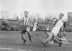 "Josef ""Pepi"" Bican (right), photo: archive of Slavia Praha"