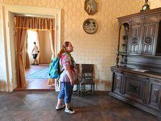 Návštěvníci zámku Letovice, foto: ČTK / Igor Zehl