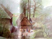 Illustration by Vladimír Tesař, photo: repro Božena Němcová, 'Babička', 1984 / Slunovrat