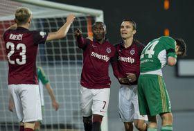 El Sparta logró una cómoda victoria de 3-0 contra el Bohemians de Praga, foto: ČTK