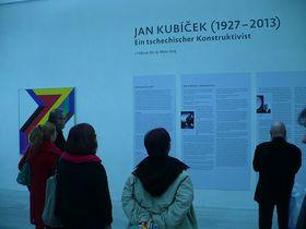 Výstava prací Jana Kubíčka vErfurtu, foto: Ursula Wenzel / art-jankubicek.cz