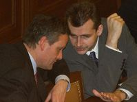 Cyril Svoboda y Jaroslav Tvrdik, foto: CTK