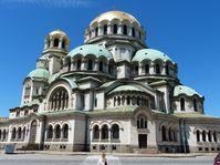 Sofijská katedrála sv. Alexandra Něvského, foto: Klára Stejskalová