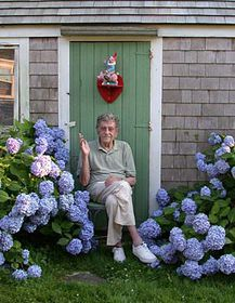 Kurt Vonnegut, photo: CTK