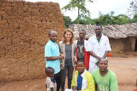 Klára Vráštilová au Congo, photo: Archives de Klára Vráštilová au Congo