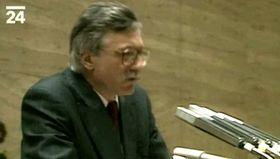 Václav Klaus, foto: ČT24