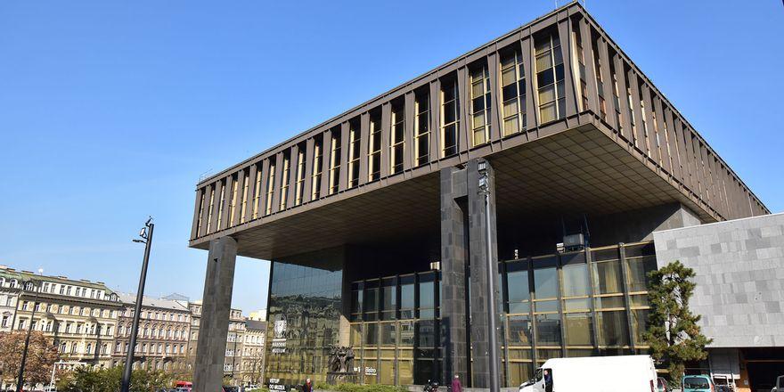 Gebäude des Föderalparlaments (Foto: Ondřej Tomšů)