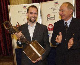 Ales Valenta fue galardonado por el Comité Olímpico checo, foto: CTK