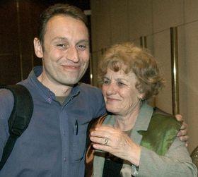 Вита Поганку в пражском аэропорту ждала мама (Фото: ЧТК)