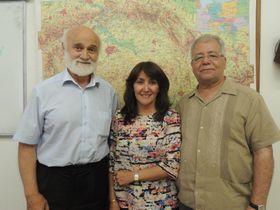 Josef Opatrný, Luz Araceli González y Zidane Zeraoui, foto: Julia Rios