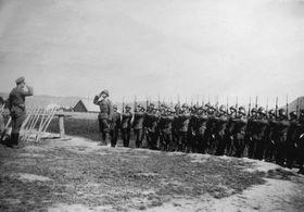 Première Armée tchécoslovaque en Slovaquie, 1944, photo: Pavel Pelech