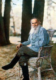 Фотографический портрет Льва Толстого в Ясной Поляне, созданный Сергеем Прокудиным-Горским, Фото: общественное достояние