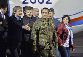 Министр Мартин Стропницкий и Йозеф Пржеровский (Фото: ЧТК)