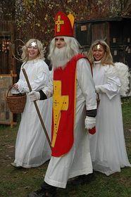Nikolausfeier (Foto: Archiv des Tschechischen Rundfunks - Radio Prag)