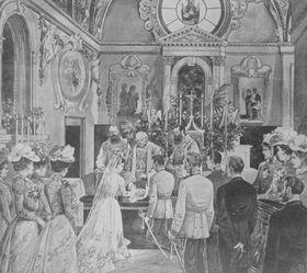 Hochzeit von Franz Ferdinand und Sophie Chotek