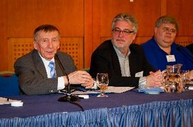 Oldřich Číp, Horst Scholz and Jeff White, photo: archive of HFCC