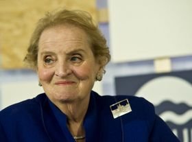 Madeleine Albright, photo: Filip Jandourek, ČRo