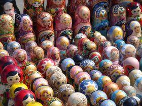 Matrjoschka-Puppen (Foto: Hendrik Schöttle, Wikimedia Commons, CC BY-SA 3.0)