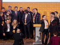 Le parti social-démocrate (ČSSD) était réuni en congrès ce week-end dans la ville de Hradec Králové, photo: ČTK / David Taneček