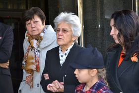 Milena Appeltová (Mitte). Foto: Archiv des Instituts für das Studium totalitärer Regime