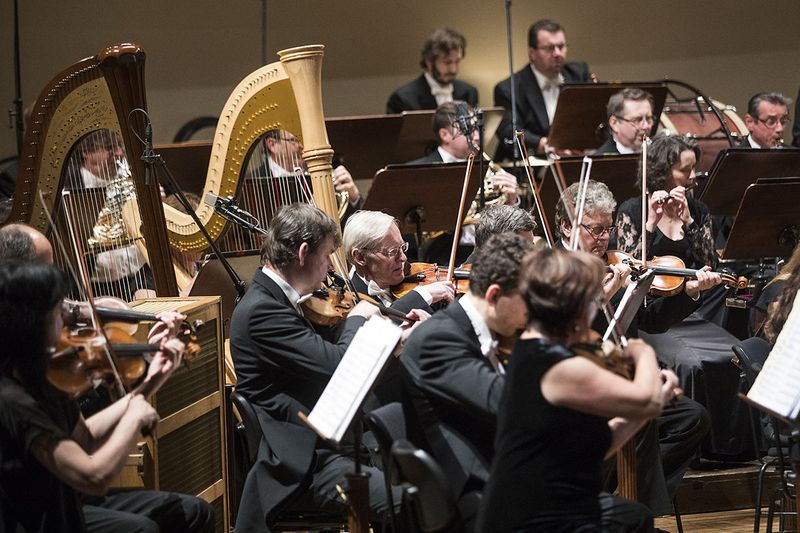 Symphonie-Orchester des Tschechischen Rundfunks (Foto: Filip Jandourek, Archiv des Tschechischen Rundfunks)