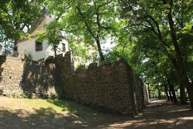 Бастион Жижки – сохранившийся фрагмент городских стен, фото: Барбора Немцова