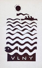 Josef Čapek, 'Les vagues', 1926, source: Galerie Art, public domain
